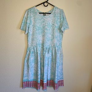 Luluroe Amelia Dress 3XL